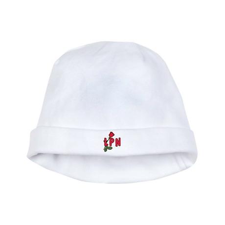 LPN Rose baby hat