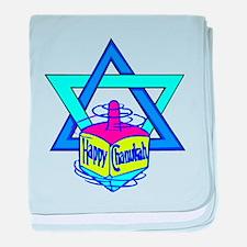 Hanukkah Oh Chanukah baby blanket