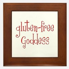 Gluten Free Goddess Framed Tile