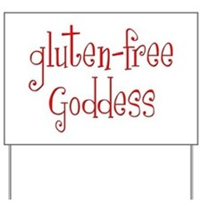 Gluten Free Goddess Yard Sign