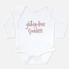 Gluten Free Goddess Long Sleeve Infant Bodysuit