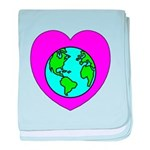 Love Our Planet baby blanket