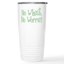 No Wheat No Worries Travel Mug