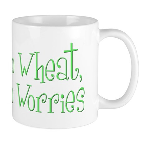 No Wheat No Worries Mug