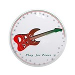 Play Peace (Guitar) Ornament