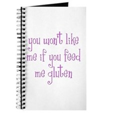 You Won't Like Me If You Feed Me Gluten Journal