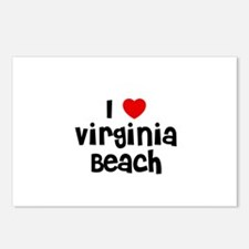 I * Virginia Beach Postcards (Package of 8)