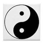 Yin Yang Tile Coaster