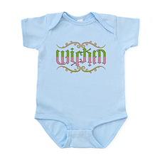 Wicked Ambigram Infant Bodysuit