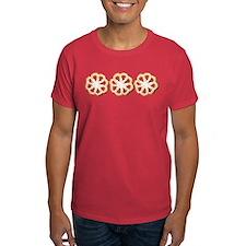 Rosette Christmas Cookies T-Shirt