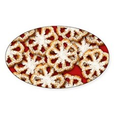 Rosette Christmas Cookies Decal