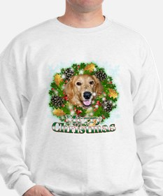 Merry Christmas Golden Retriever 2 Jumper