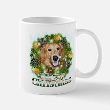 Merry Christmas Golden Retriever 2 Mug