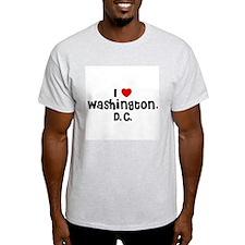 I * Washington, D.C. Ash Grey T-Shirt