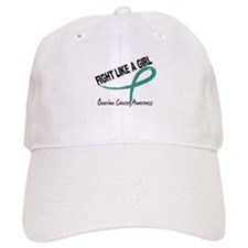 Fight Like A Girl Ovarian Cancer Cap
