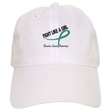 Licensed Fight Like A Girl 7.3 Ovarian Cancer Baseball Cap
