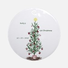 .::MoonDreams::. Baby 1st Christmas Ornament