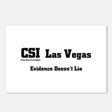 CSI Las Vegas Evidence Doesn' Postcards (Package o