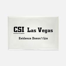 CSI Las Vegas Evidence Doesn' Rectangle Magnet