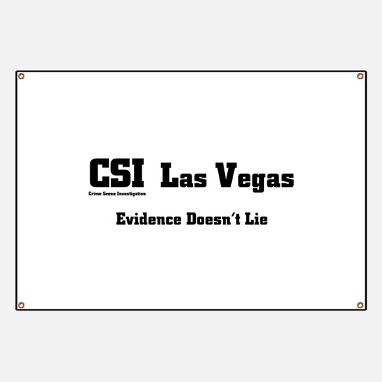 CSI Las Vegas Evidence Doesn' Banner
