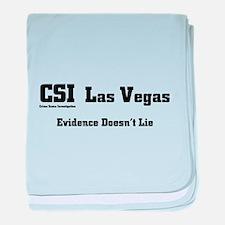 CSI Las Vegas Evidence Doesn' baby blanket