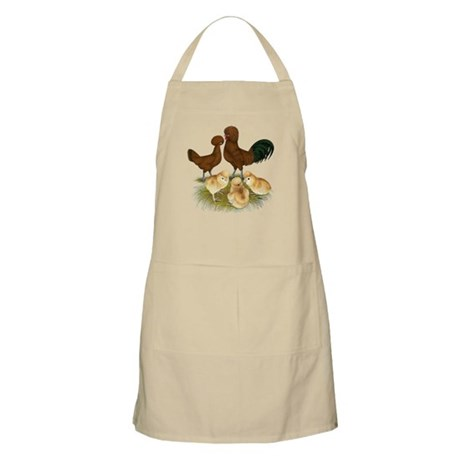 Red Polish Chickens Apron