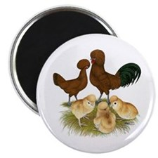"""Red Polish Chickens 2.25"""" Magnet (10 pack)"""