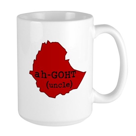 ah-GOHT, Uncle in Amharic (Et Large Mug