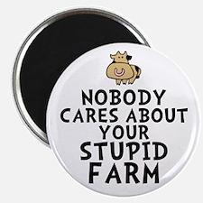 Stupid Farm - Cow Magnet