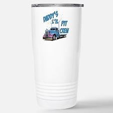 Daddy's L'il Pit Crew Travel Mug