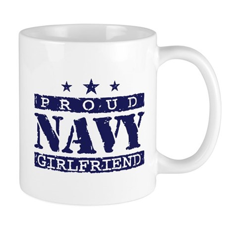 Proud Navy Girlfriend Mug