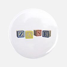 "Zane Alphabet Block 3.5"" Button (100 pack)"