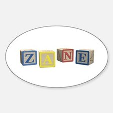 Zane Alphabet Block Decal
