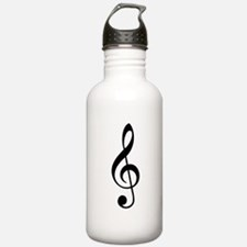 Treble Clef Water Bottle