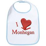 I LOVE Monhegan Bib