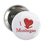 "I LOVE Monhegan 2.25"" Button (10 pack)"