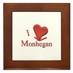 I LOVE Monhegan Framed Tile