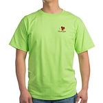 I LOVE Monhegan Green T-Shirt