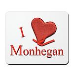 I LOVE Monhegan Mousepad