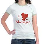 I LOVE Monhegan Jr. Ringer T-Shirt