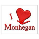 I LOVE Monhegan Small Poster