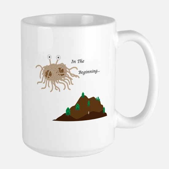 In the Beginning Large Mug