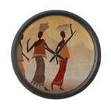 African Wall Clocks