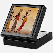 African Women Keepsake Box