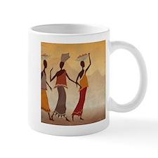 African Women Small Mug
