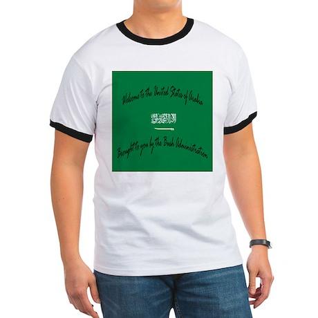 United States of Arabia Ringer T-shirt