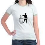 Atheist Jr. Ringer T-Shirt