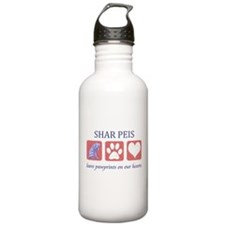 Shar-Pei Lover Gifts Water Bottle