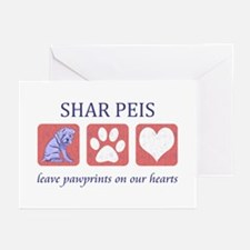 Shar-Pei Lover Gifts Greeting Cards (Pk of 10)
