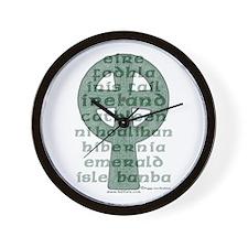 The Names Ireland of Wall Clock